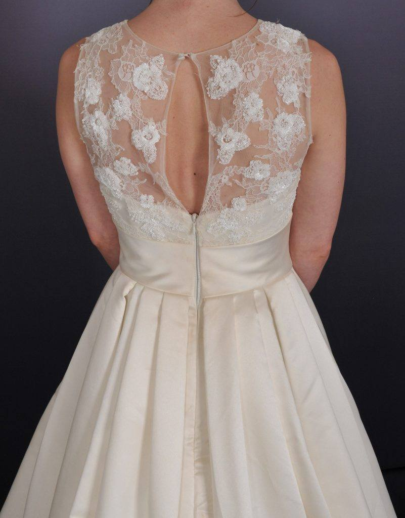 Lace Bridal Dress - Back