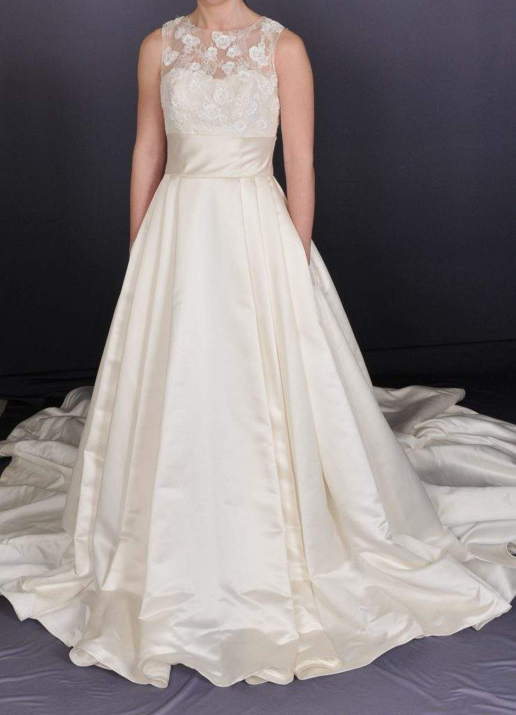 Lace Bridal Dress - Front