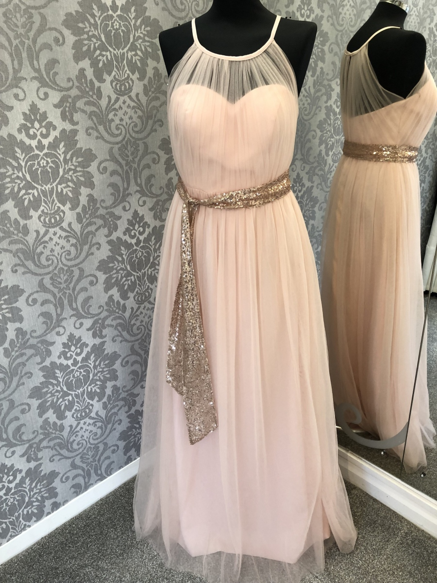 Grecian Style Bridesmaid Dress - Front
