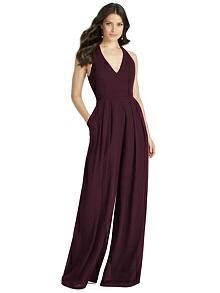 Dessy Bridesmaid Playsuit - Front